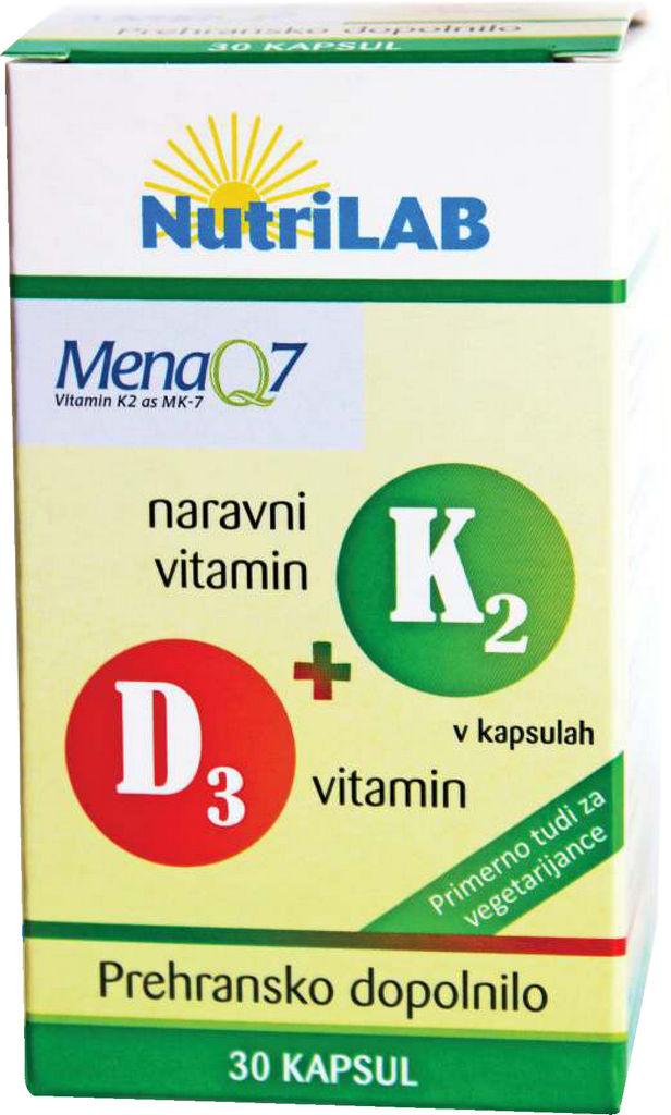 Prehransko dopolnilo, K2+D3