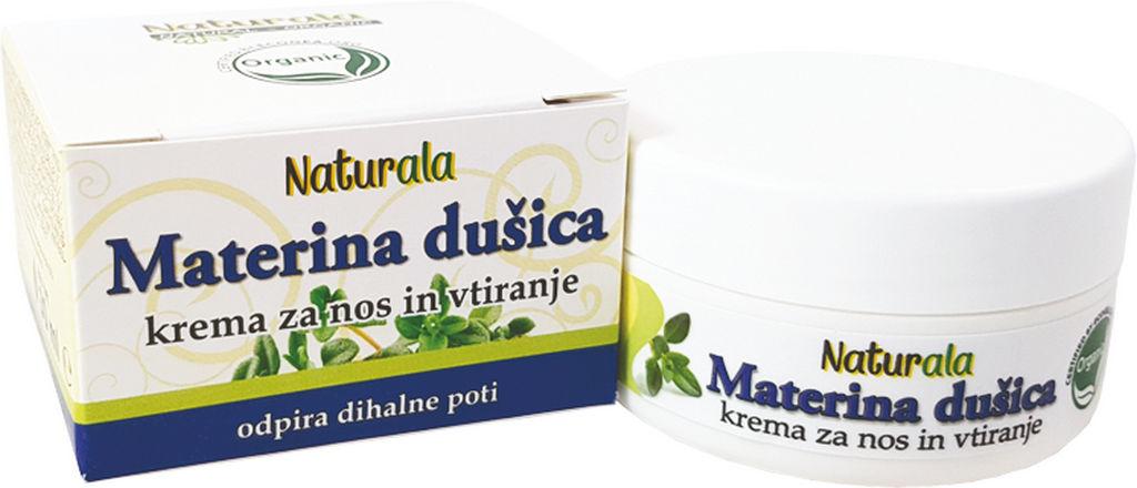 Krema Naturala, Materina dušica, 30 ml