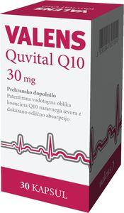 Preh.dopolnilo Valens, Quvital Q10 kap., 27,5g