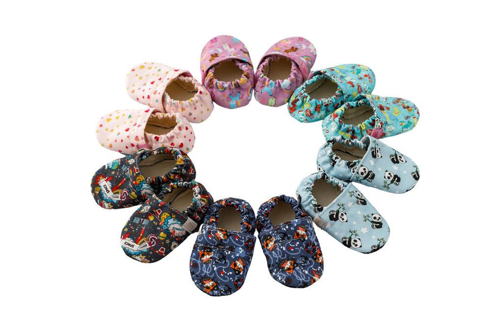 Copati otroški tekstilni Barefoot, št. od 16 do 28