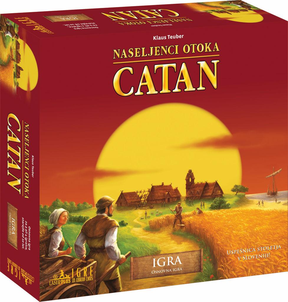 Igra Naseljenci otoka Catan, osnovna