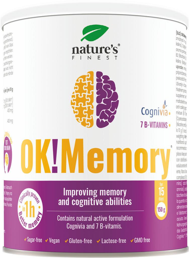 Prehransko dopolnilo Nutrisslim, OK!Memory