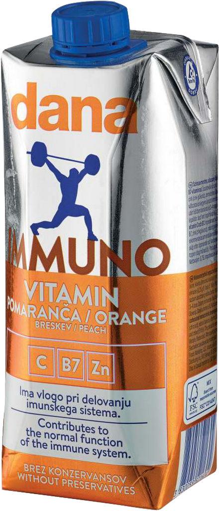 Pijača Dana, Vitamin immuno, 0,75 l