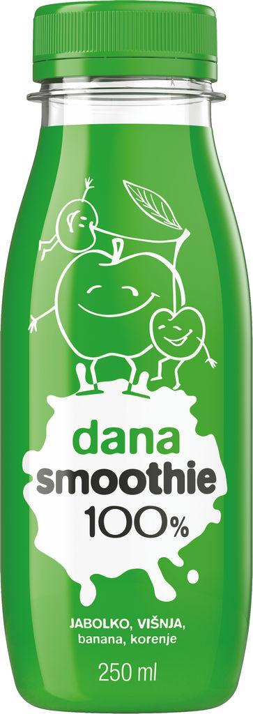 Sok Dana, Smoothie jabolko, višnja, 0,25 l