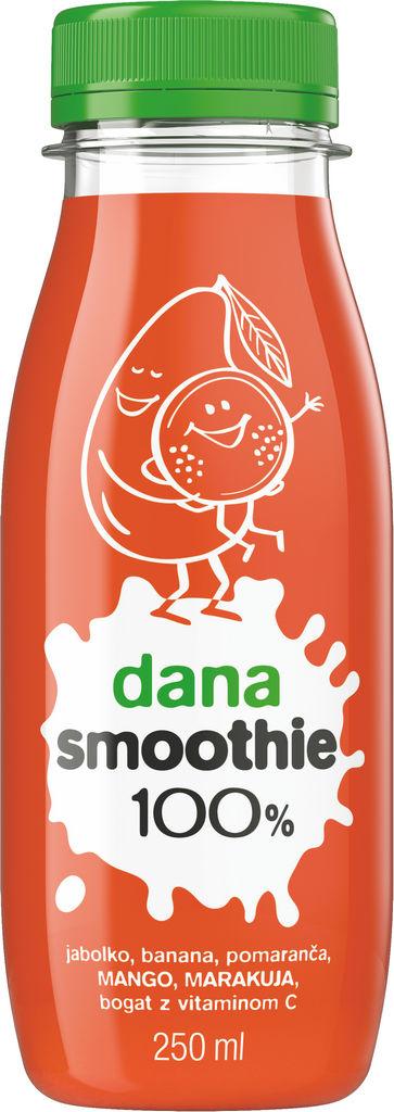Sok Dana, Smoothie mango, marakuja, 0,25 l