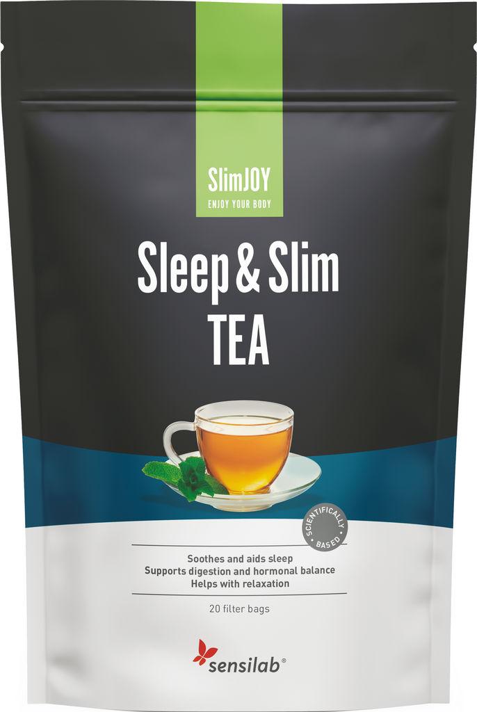 Čaj za hujšanje Sensilab, SlimJOY Sleep&Slim, 20vrečk, 30 g