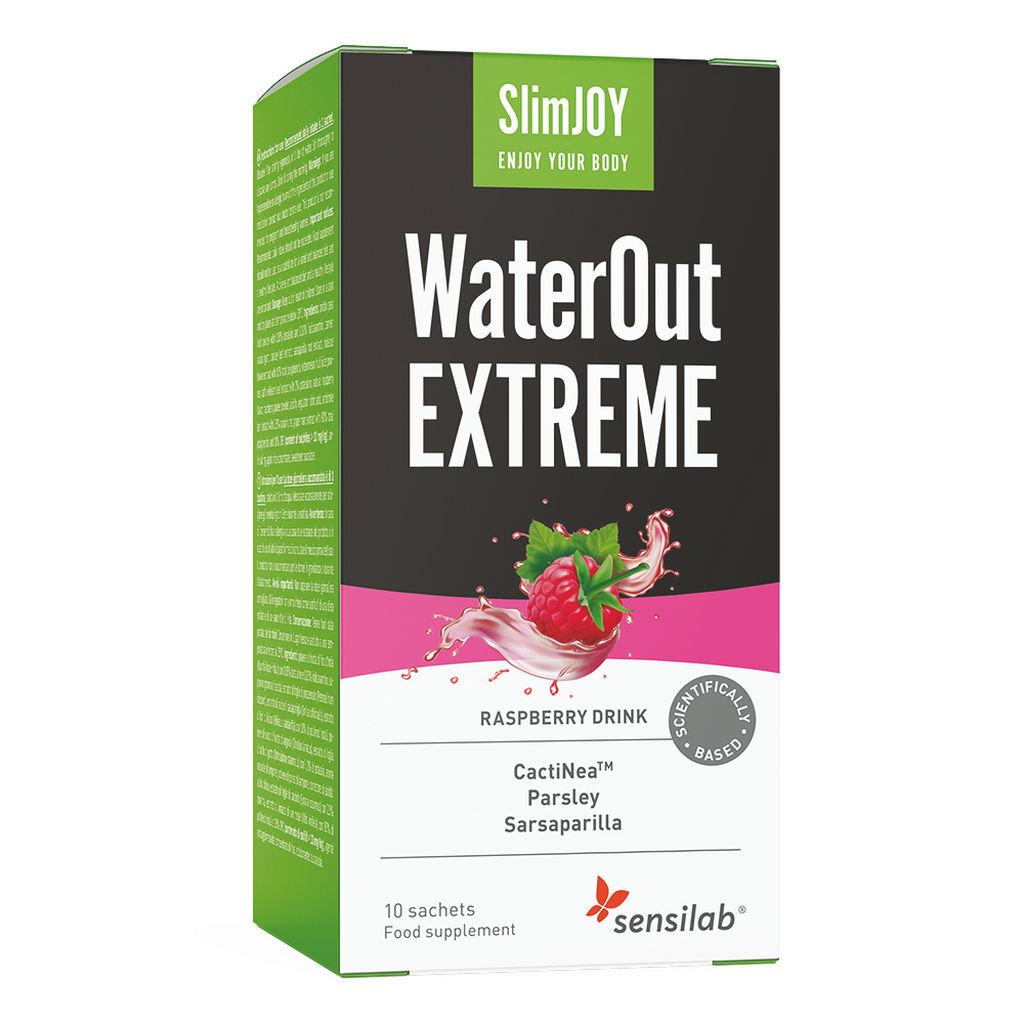 Prehransko dopolnilo Sensilab, SlimJOY WateOut EXTREME, 10 napitkov