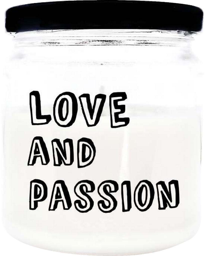 Sveča dišeča O.W.N. Candels,  v kozarcu Love in passion