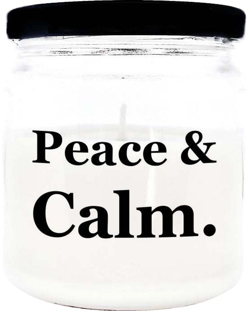 Sveča dišeča O.W.N. Candels,  v kozarcu Peace&Calm