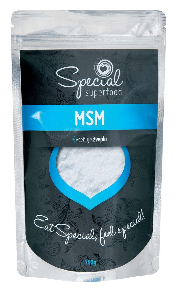 Prehransko dopolnilo, MSM, v prahu, 150g
