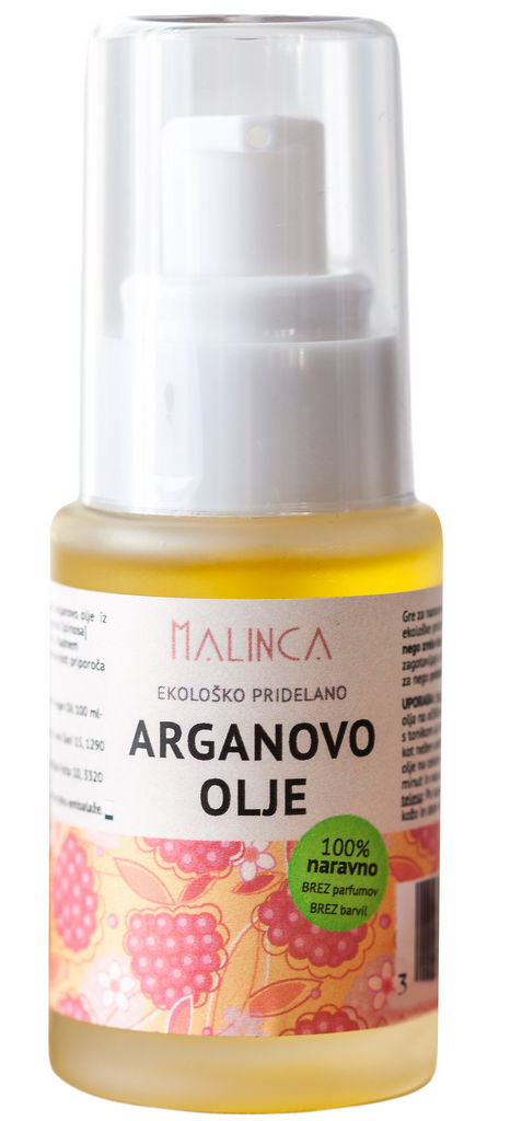 Olje argan Bio Malinca, 30ml