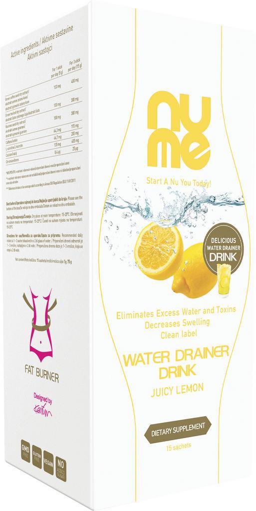 Preh.dopolnilo Nume, sočna limona, 10x3g