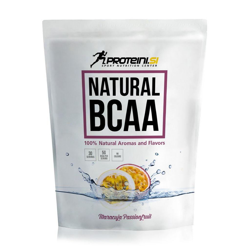 Napitek Proteini.si, Natural BCAA, Maracuja, Passion fruit, 200 g