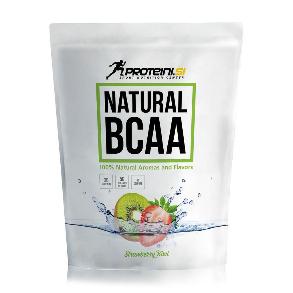 Napitek Proteini.si, Natural BCAA, Strawberry, Kiwi, 200 g