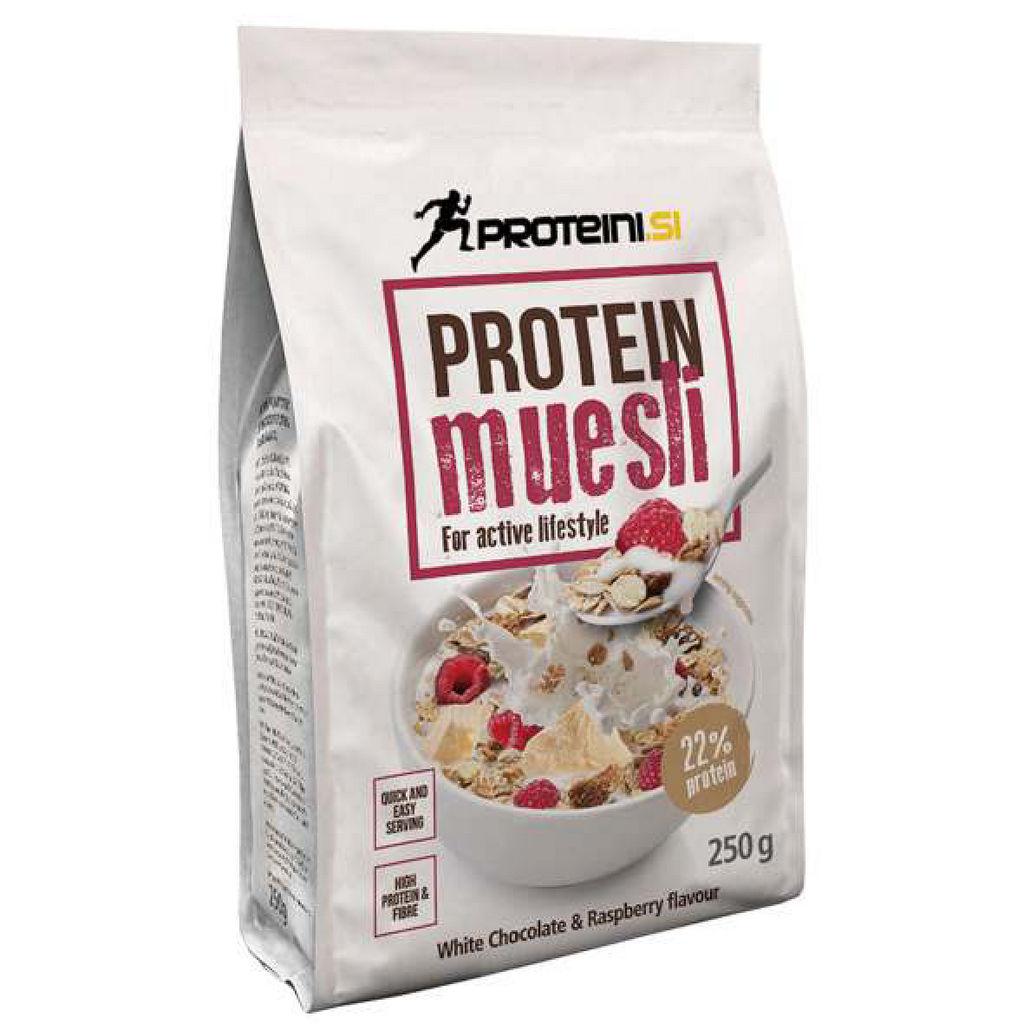 Kosmiči beljkovinski Proteini.si, bela čokolada, 250g