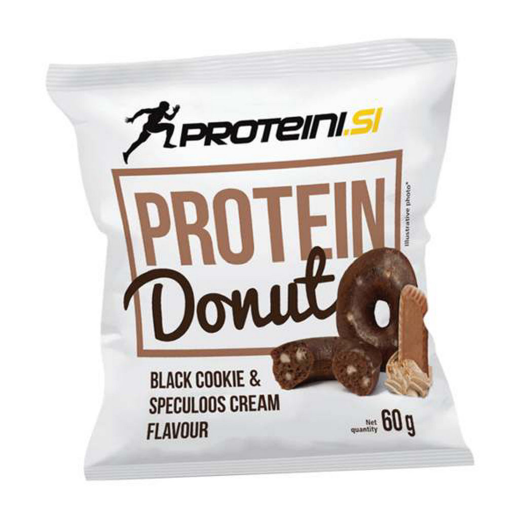 Donut Proteini.si, Black Cookie & Speculoos krema, 60 g