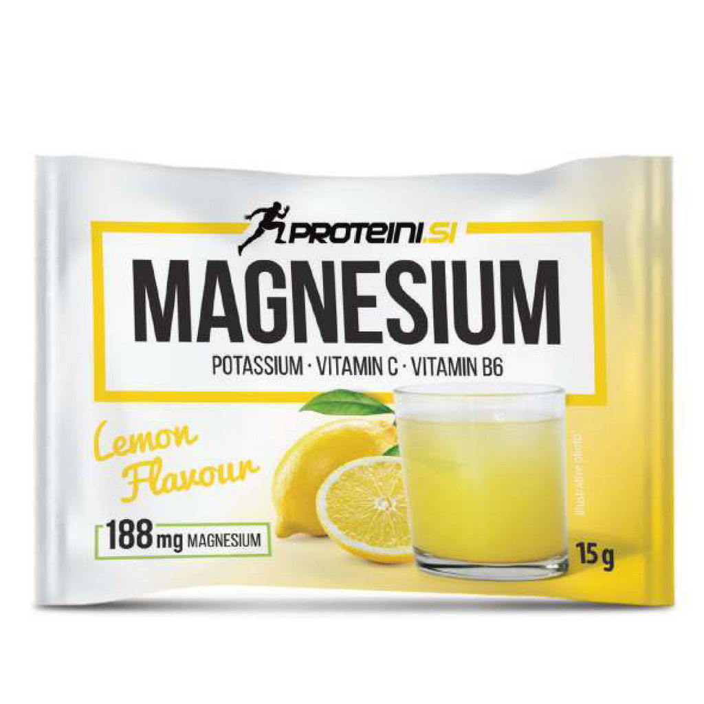 Magnesium Proteini.si, limona, 15g