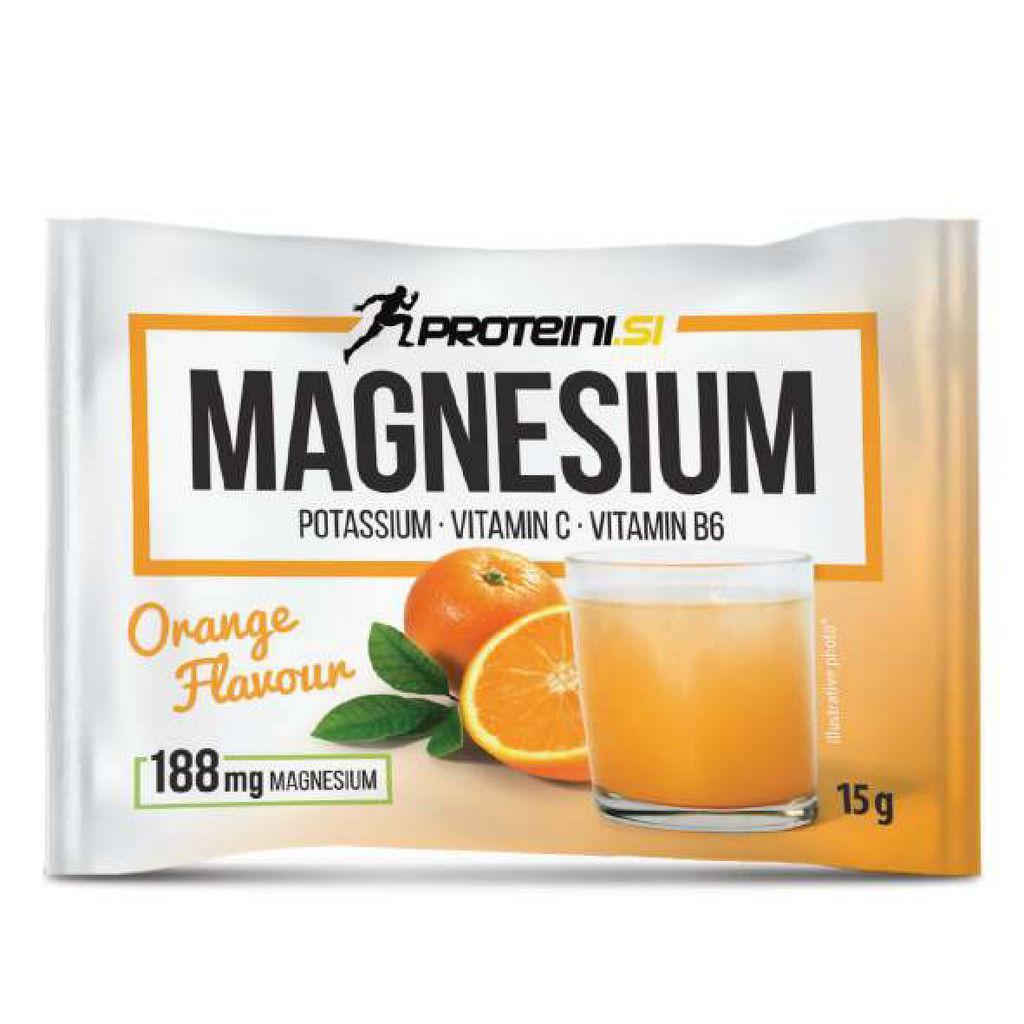 Magnesium Proteini.si, pomaranča, 15g