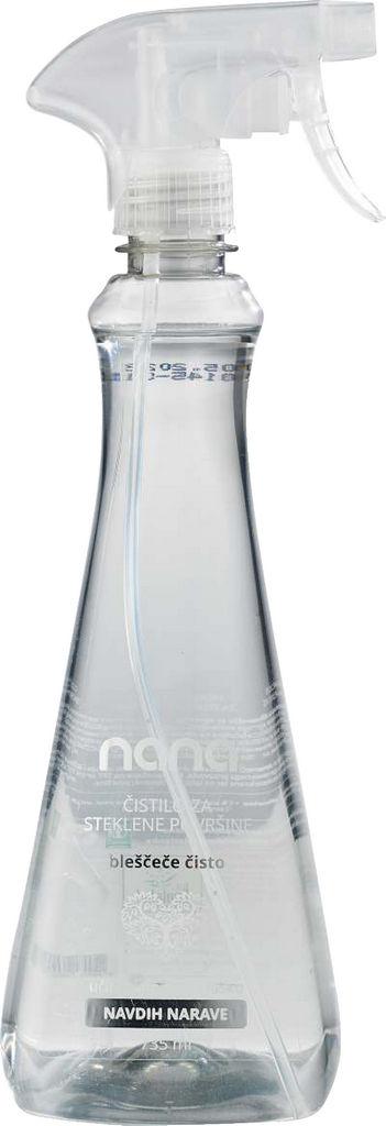 Čistilo Nana za steklo, Bleščeče čisto, 735ml