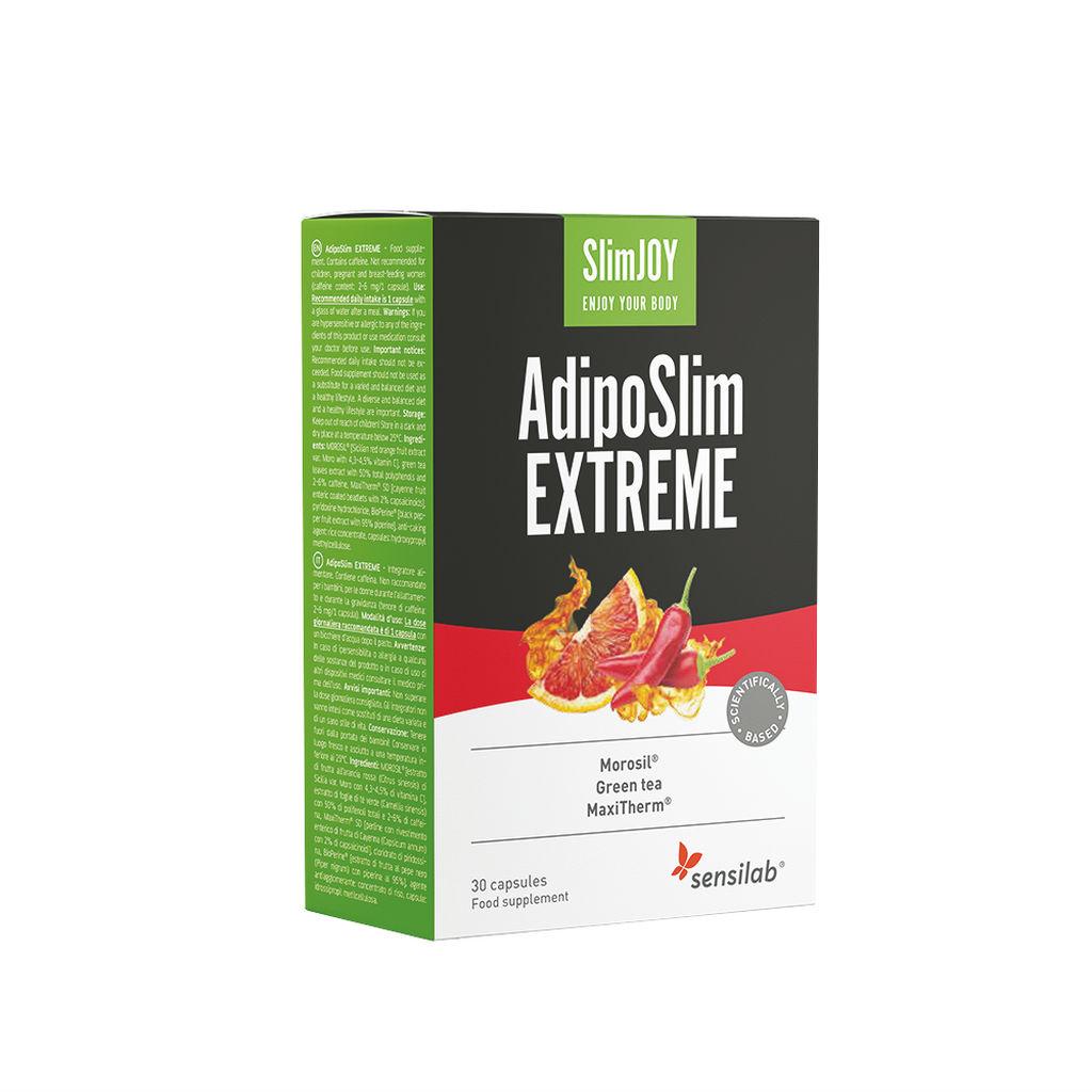 Prehransko dopolnilo Sensilab, SlimJOY Adiposlim EXTREME, 30 kapsul