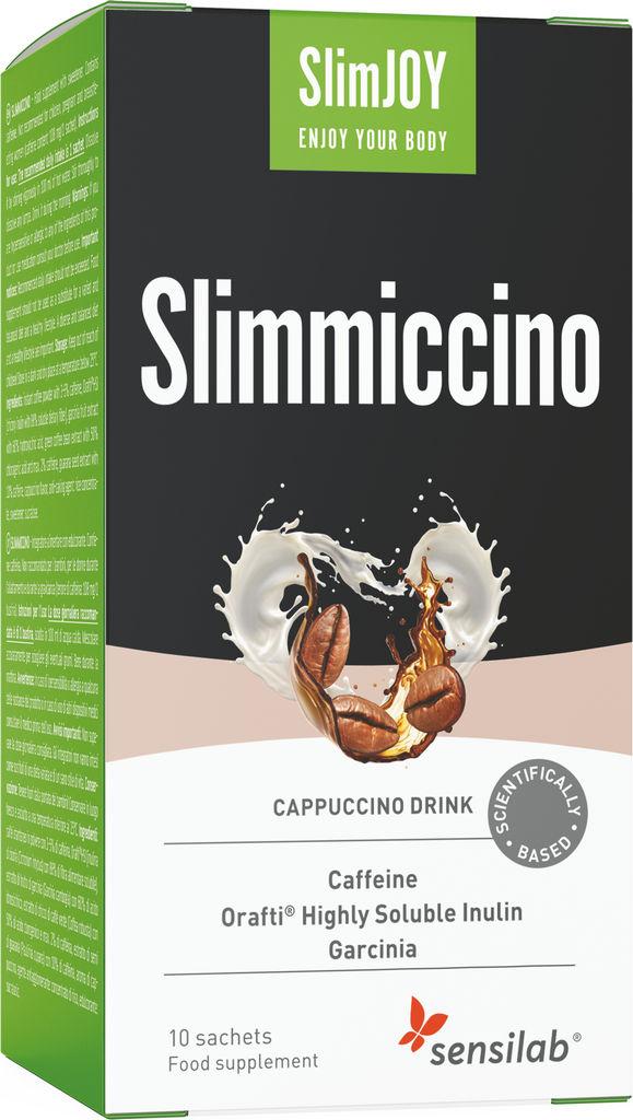 Prehransko dopolnilo Sensilab, SlimJOY Slimmiccino, 10 napitkov