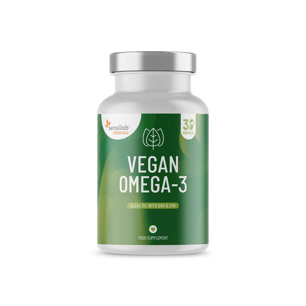 Prehransko dopolnilo Sensilab, Ess vegan Omega-3, 30 kapsul