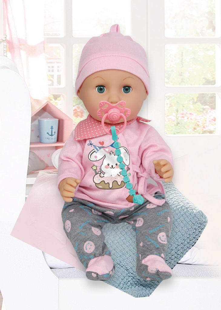 Igrača dojenček z dodatki Rong Long, 35 cm