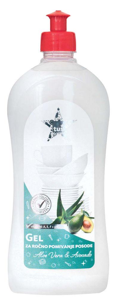 Detergent Tuš, gel, balzam aloe vera, 500ml