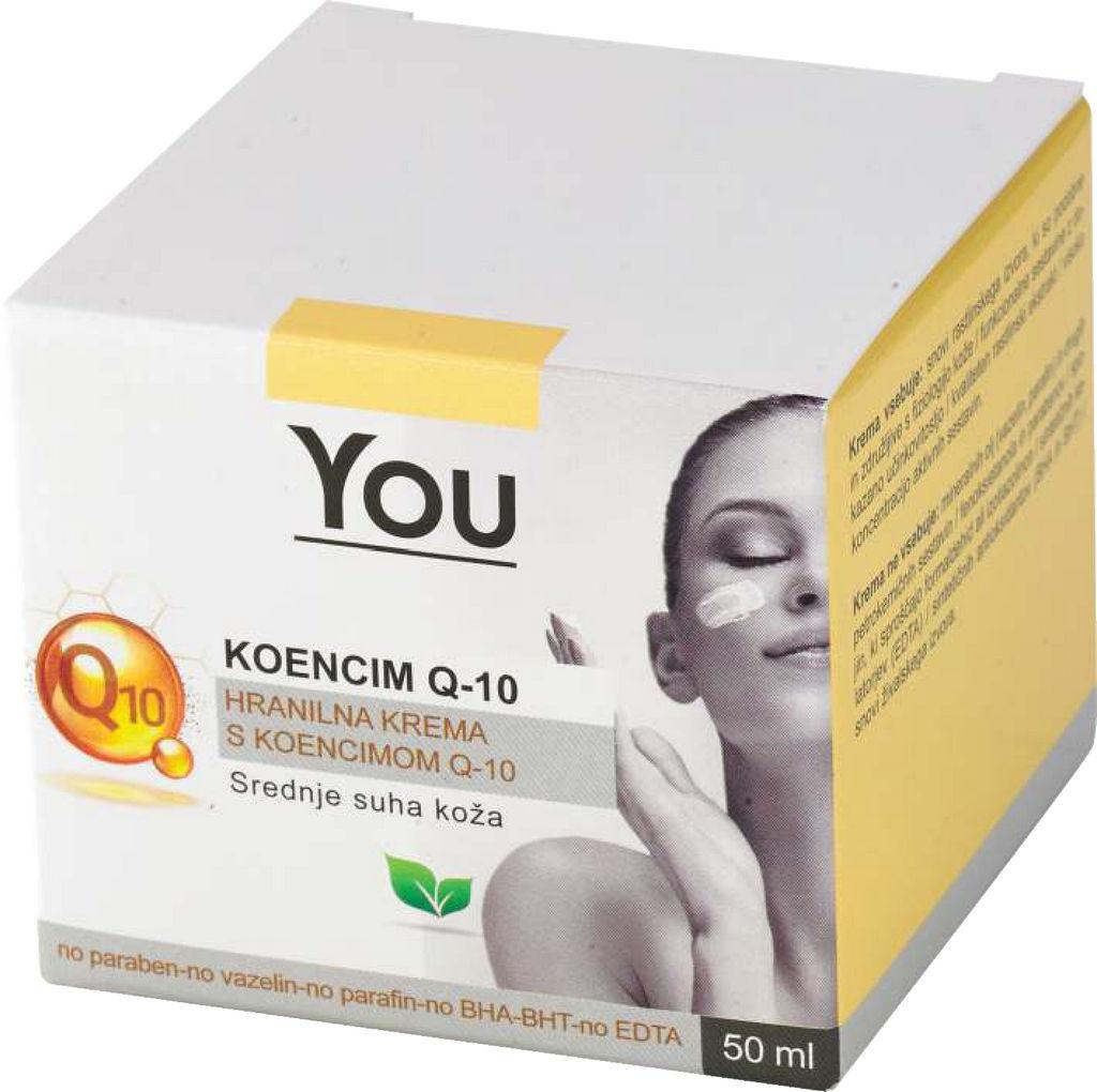 Krema You, Q-10, hranilna, 50ml