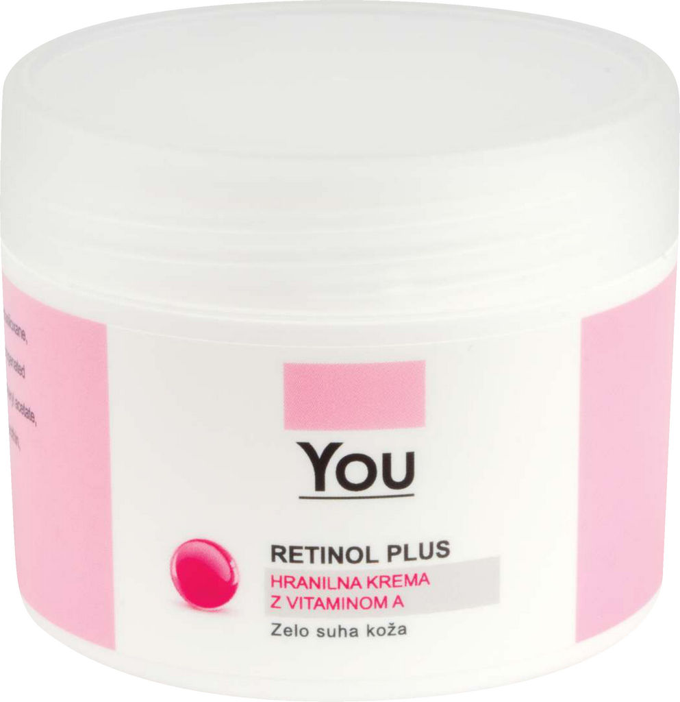 Krema You, Retinol plus, extra hranilna, 50ml
