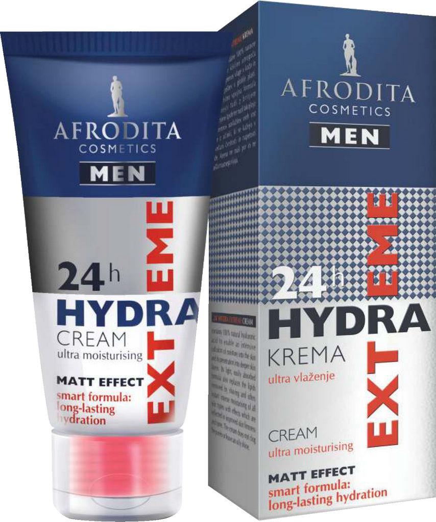 Krema Afrodita, Men 24h Hydra Extreme, 50 ml