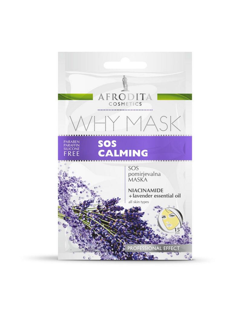 Maska Why mask, Sos calming mask, 6x6ml