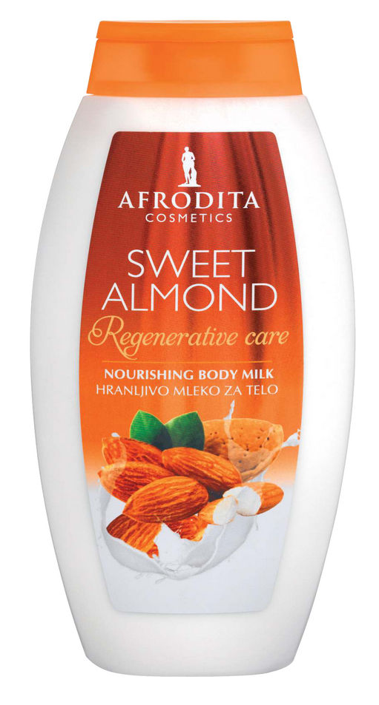 Mleko za telo Afrodita, Sweet Almond, 250ml