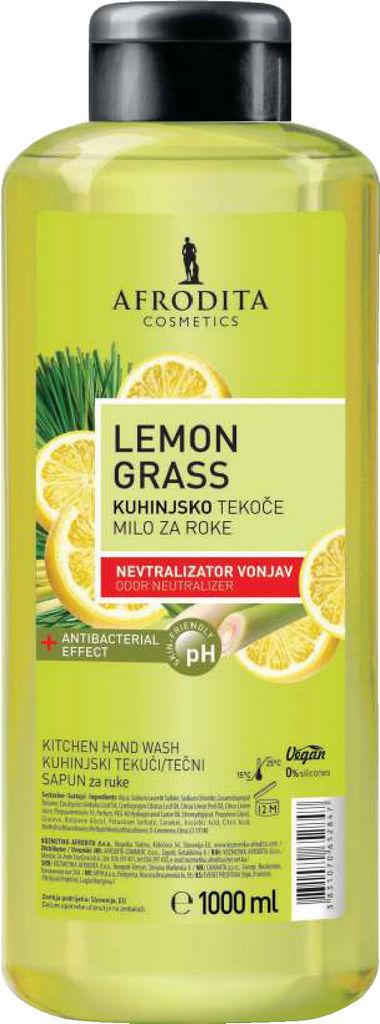 Milo tekoče Afrodita, antibakterijsko, Lemon grass, 1 l
