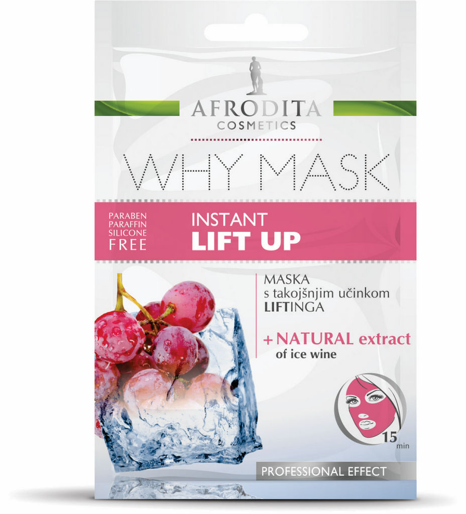 Maska Why mask, Instant lift up, 2x4ml