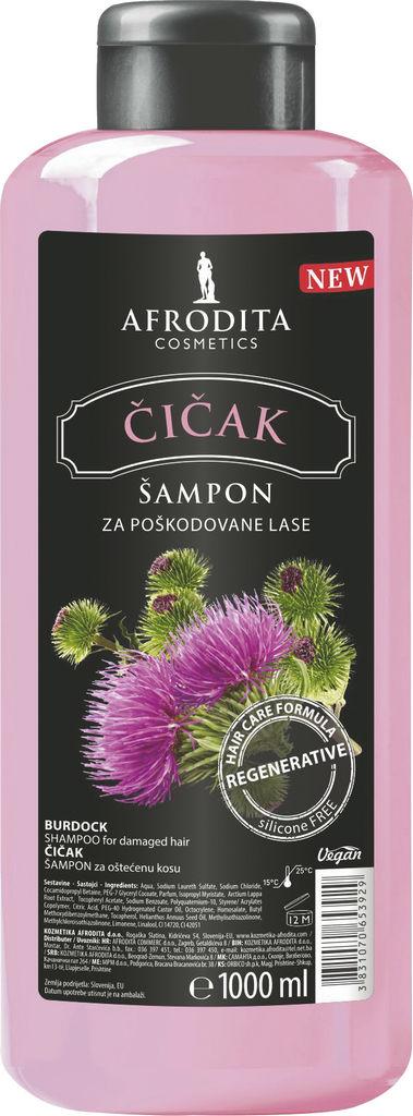 Šampon za lse Afrodita, Čiček, 1 l