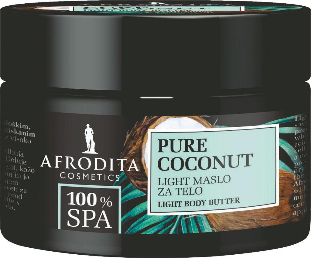 Maslo za telo Afrodita, 100% SPA kokos, 200 ml