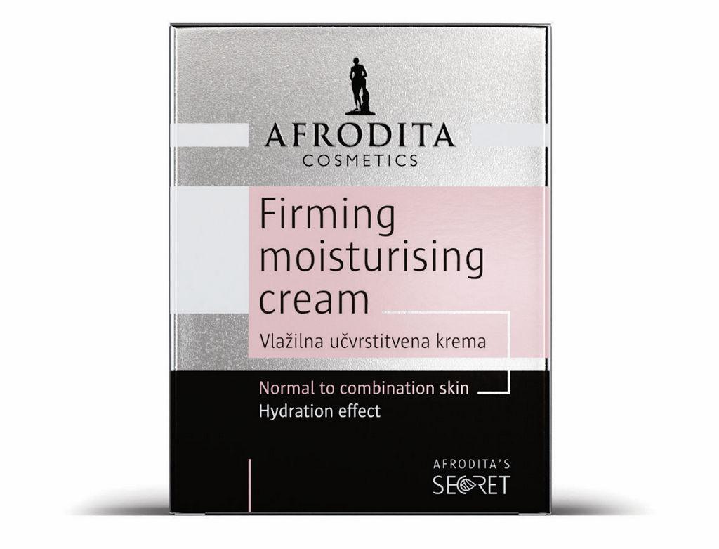 Krema za obraz Afrodita, Secret Vlažilna učrstitvena krema, 50 ml