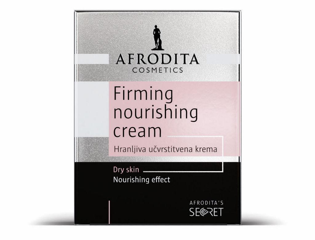 Krema za obraz Afrodita, Secret Hranljiva učvrstitvena krema, 50 ml