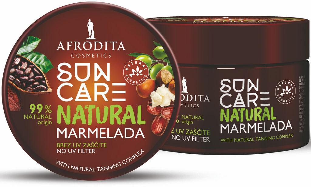 Marmelada Afrodita, Sun Care, Natural, 200 ml
