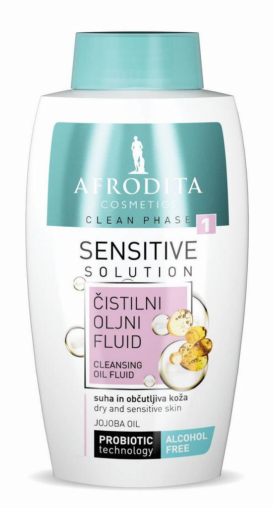 Čistilni fluid za obraz Afrodita Clean phase oljni 125ml