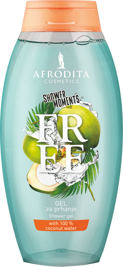 Gel za prhanje Afrodita, Free, 250 ml