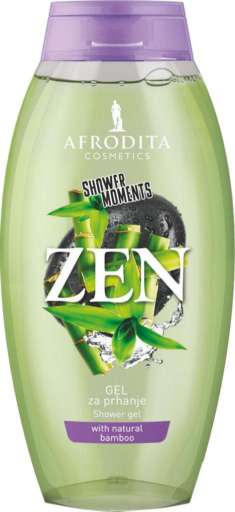 Gel za prhanje Afrodita, SHOWER MOMENTS Zen, 250 ml
