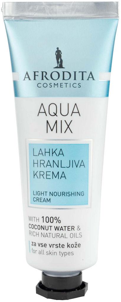 Krema za obraz Aqua mix lahka hranljiva, 50ml