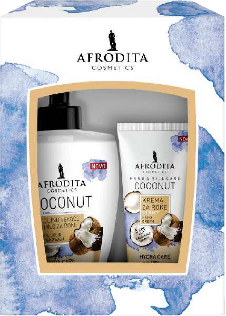 Darilni paket Afrodita, Hand Care COCONUT
