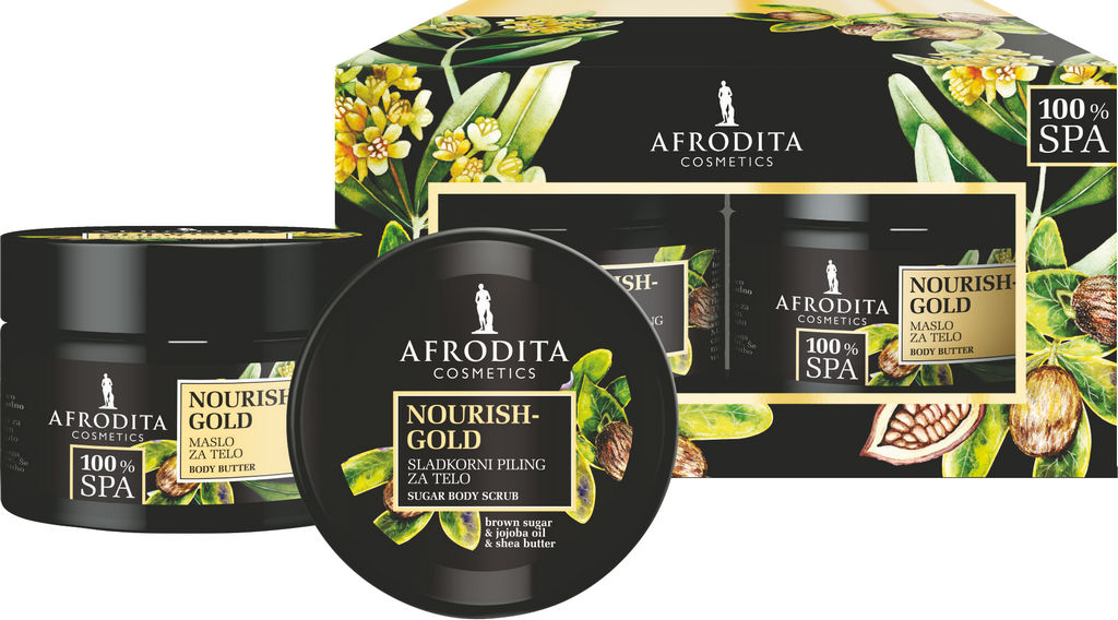 Darilni paket Afrodita, Spa Gold