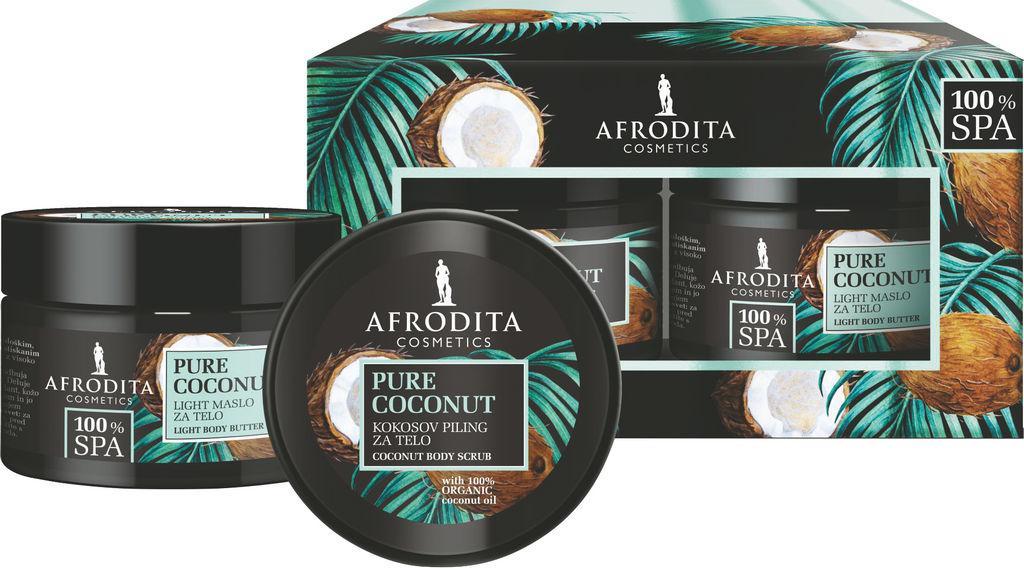 Darilni paket Afrodita Spa coconut
