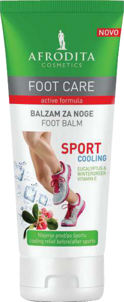 Balzam za noge Afrodita, Foot care Sport, 100 ml