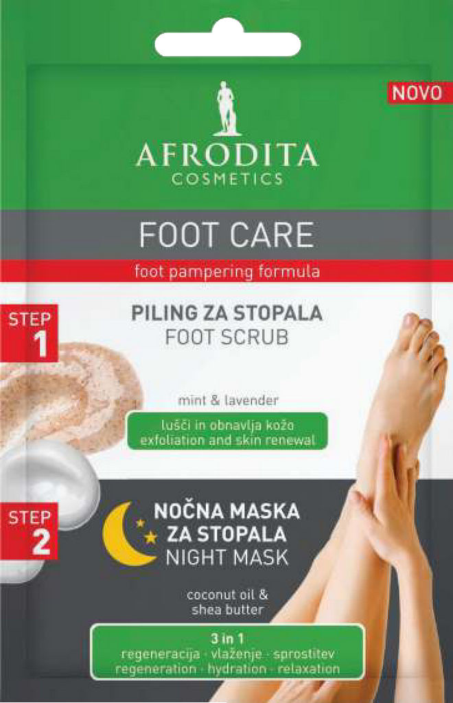 Piling foot care 5ml+nočna maska 4ml