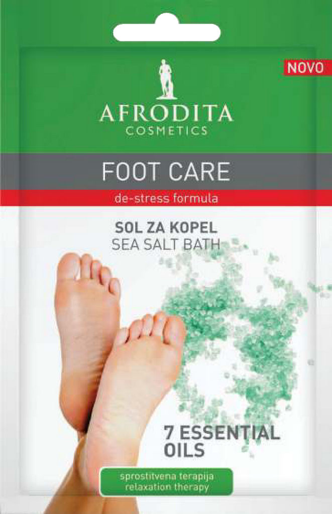Sol za kopel Afrodita, Foot care, 35 g